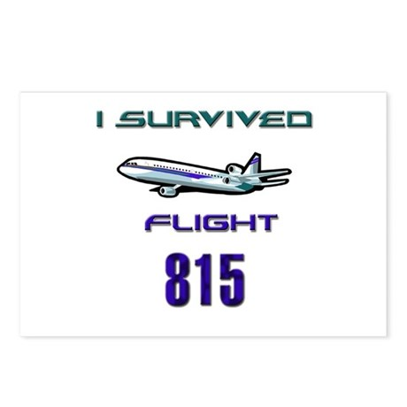 FLIGHT 815 Postcards (Package of 8)