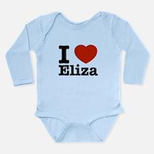 I love Eliza Long Sleeve Infant Bodysuit