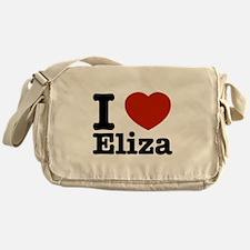 I love Eliza Messenger Bag