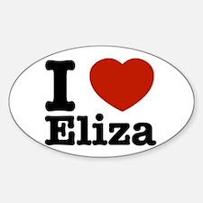 I love Eliza Decal