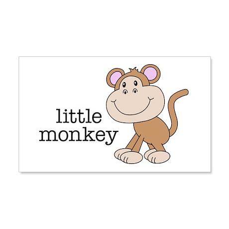 Little Monkey 22x14 Wall Peel