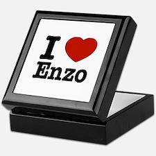 I love Enzo Keepsake Box