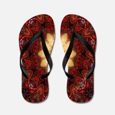 Cajun Crustacean Flip Flops