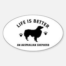 Australian Shepherd Dog Breed Design Decal