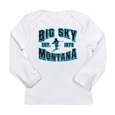 Big Sky Black Ice Long Sleeve Infant T-Shirt