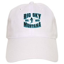 Big Sky Black Ice Baseball Cap