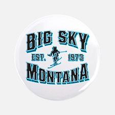 "Big Sky Black Ice 3.5"" Button"