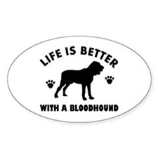 Bloodhound Dog Breed Design Decal