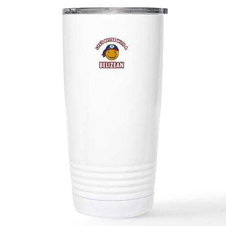 Cute Belizean designs Stainless Steel Travel Mug