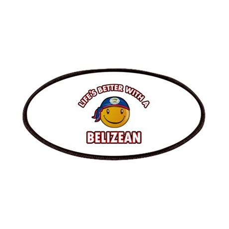 Cute Belizean designs Patches