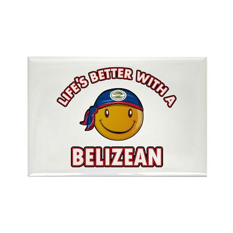 Cute Belizean designs Rectangle Magnet (10 pack)