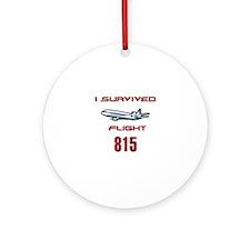 FLIGHT 815 OCEANIC AIR Ornament (Round)