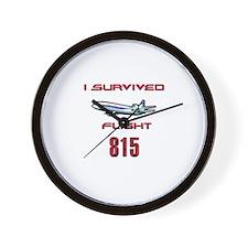 FLIGHT 815 OCEANIC AIR Wall Clock