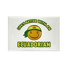 Cute Ecuadorian designs Rectangle Magnet