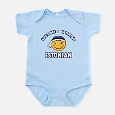 Cute Estonian designs Infant Bodysuit