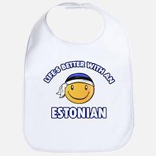 Cute Estonian designs Bib