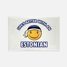 Cute Estonian designs Rectangle Magnet
