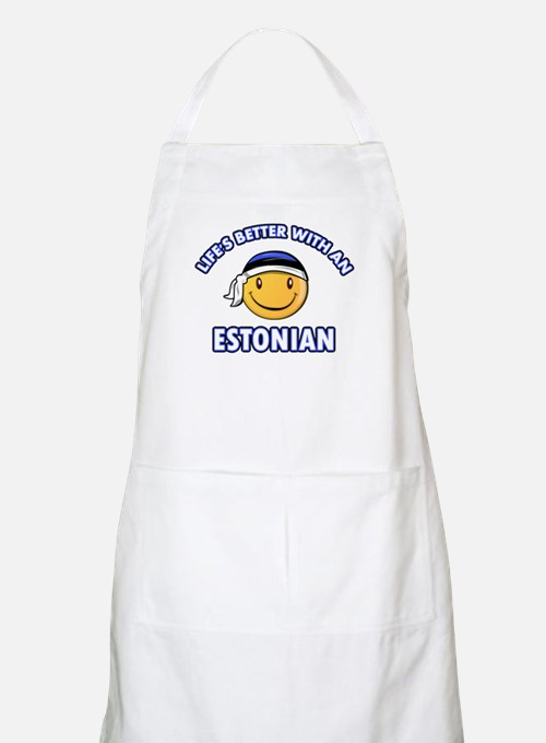 Cute Estonian designs Apron