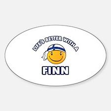 Cute Finn designs Decal