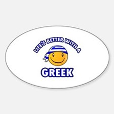 Cute Greek designs Decal