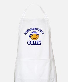 Cute Greek designs Apron
