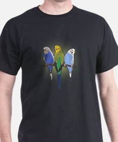 Cute Blue bird portrait T-Shirt