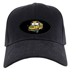 School bus Baseball Hat