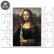 """clarinet da Vinci """"Musee du Louvre Puzzle"""