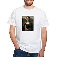 "clarinet da Vinci ""Musee du Louvre Shirt"