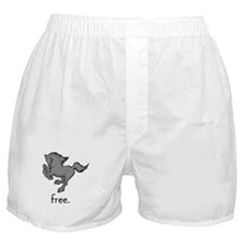 Cute Percheron horse Boxer Shorts