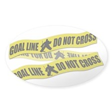Hockey Crime Tape Decal