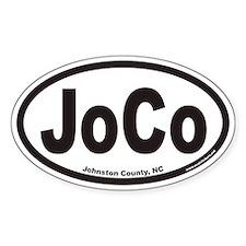 Johnston County JOCO Euro Oval Decal