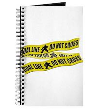 Hockey Crime Tape Journal
