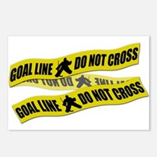 Hockey Crime Tape Postcards (Package of 8)