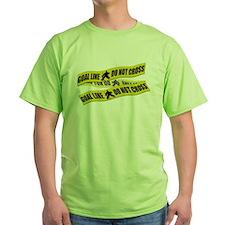 Hockey Crime Tape T-Shirt