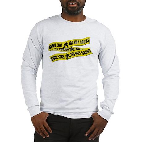Hockey Crime Tape Long Sleeve T-Shirt