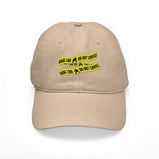 Hockey Crime Tape Baseball Cap
