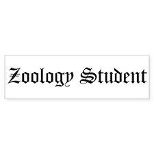 Zoology Student Bumper Bumper Sticker