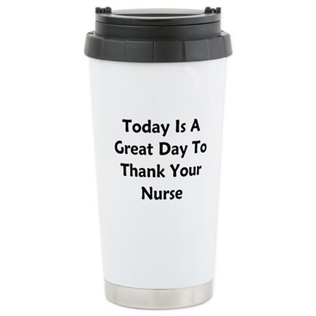 Great Day To Thank Your Nurse Stainless Steel Trav