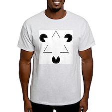 Kanizsa Triangle T-Shirt