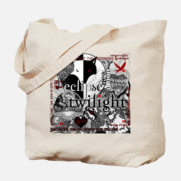 Must Have Twilight Collage by Twibaby Tote Bag