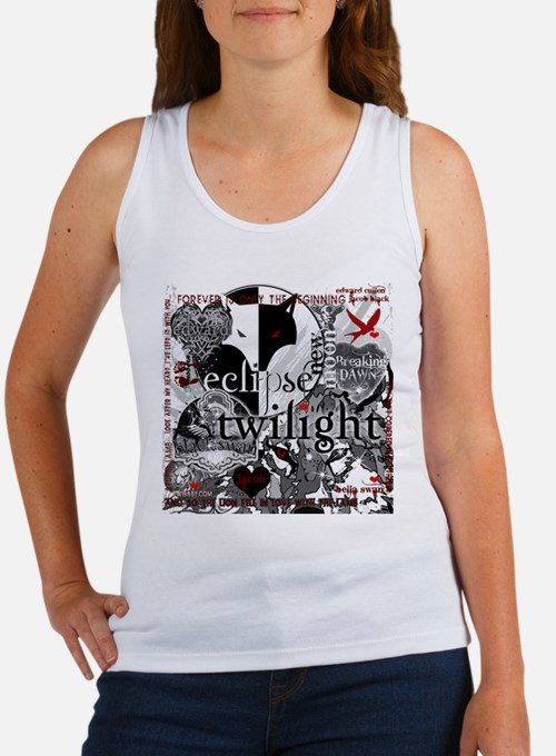 Must Have Twilight Collage by Twibaby Women's Tank