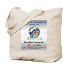 World Down Syndrome Day 2012 Tote Bag
