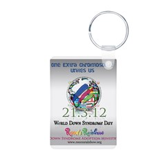 World Down Syndrome Day 2012 Keychains
