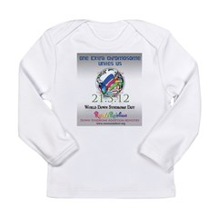 World Down Syndrome Day 2012 Long Sleeve Infant T-