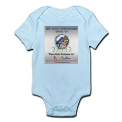 World Down Syndrome Day 2012 Infant Bodysuit