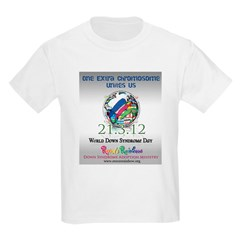 World Down Syndrome Day 2012 T-Shirt