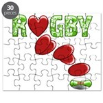 The Rugby Rush Puzzle