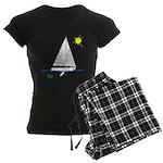 The Well Rigged Women's Dark Pajamas
