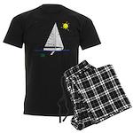 The Well Rigged Men's Dark Pajamas